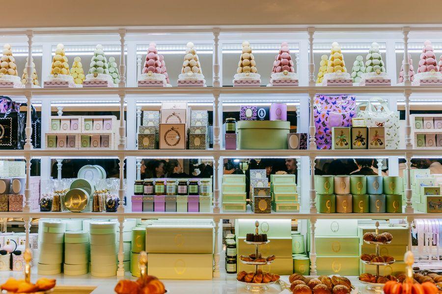 Ladurée's Fancy New Macaron Shop Is Now Open in NYC