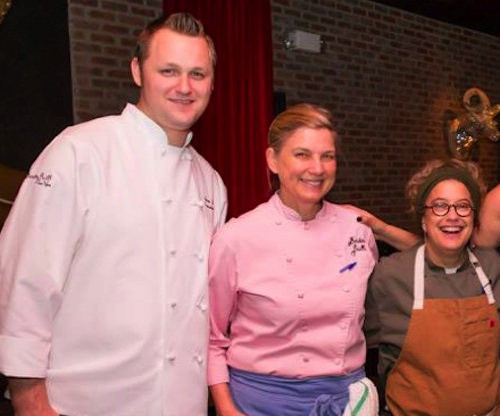 Chris Keating, Mary Sue Milliken and Susan Feniger of Border Grill