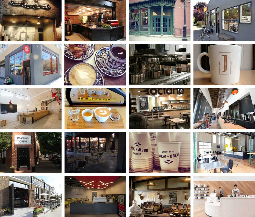 The 20 Hottest Coffee Shops Across the US Right Now