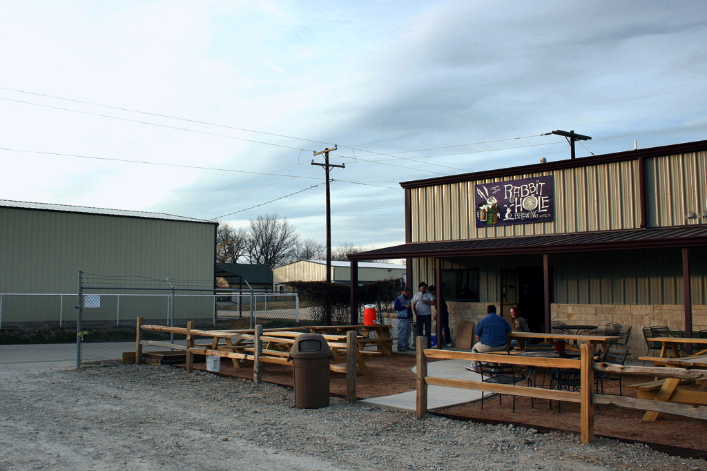 Rabbit Hole Brewing opened to the public last Saturday.