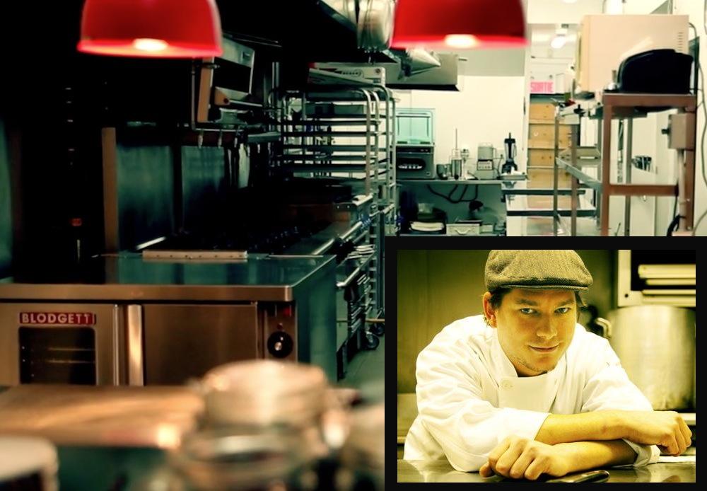 "Vimeo, <a href=""http://www.nightlife.ca/2011/04/07/top-chef-canada-montreals-derek-bocking-hams-it-camera"">Patrice Lamoureux</a>]"