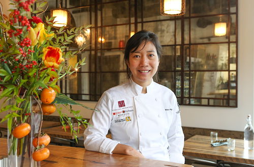Chef Mary Nguyen of Parallel 17 and Olive & Finch
