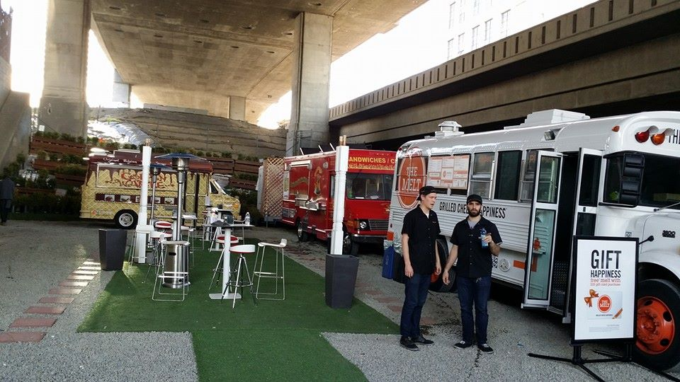 G Food Lounge, A SOMA Food-Truck Hangout