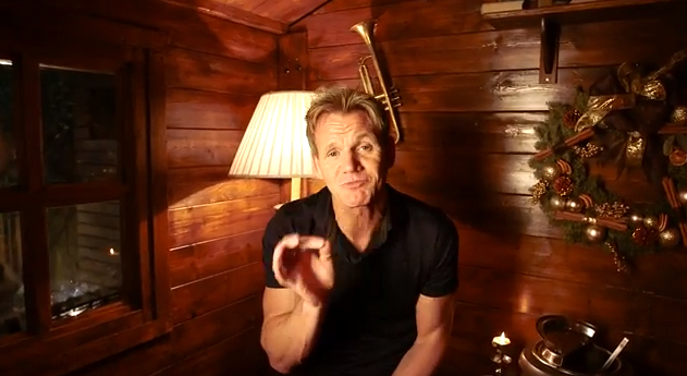 Watch Gordon Ramsay's Sweary Christmas Outtakes