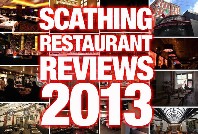 The 19 Most Scathing Restaurant Reviews of 2013