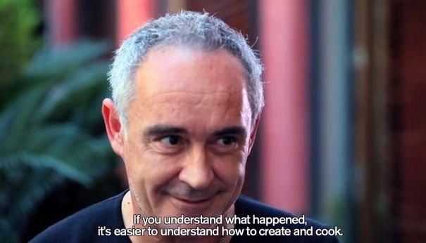 Watch Ferran Adrià Talk Books and Bullipedia