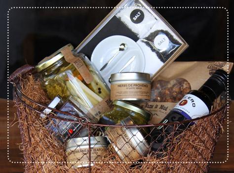 Olive & Finch gift baskets