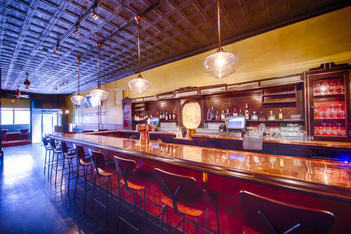 The bar at the Petworth Citizen when it opened in 2014