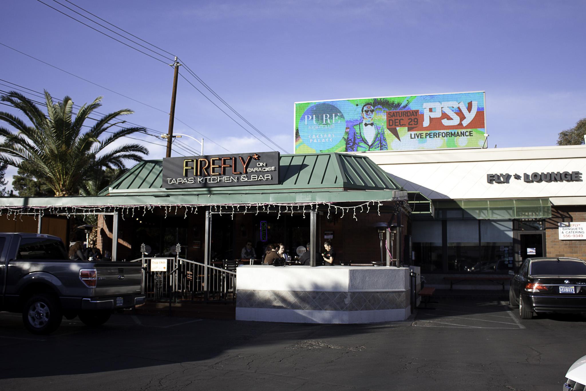 The original Firefly Tapas Kitchen & Bar on Paradise Road