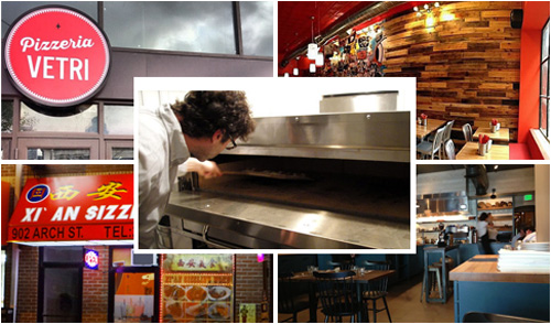Nominees: Pizzeria Vetri, Cheu Noodle Bar, High St. on Market, Xi'an Sizzling Woks, Pizzeria Beddia