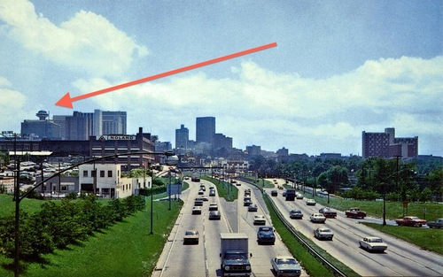 The Polaris dominates the 1967 ATL skyline.