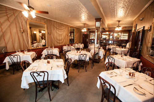 The impeccable Gautreau's, one of Anderson's Top 10 Restaurants of 2013