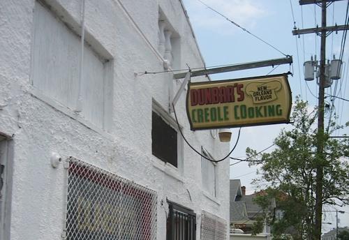 Dunbar's Creole Cooking.
