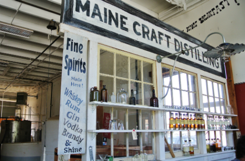 Maine Craft Distilling Rolls Out Blueberry Moonshine