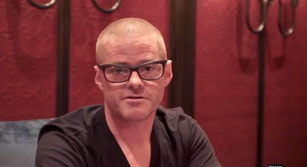Watch Heston Blumenthal Talk About His Upcoming Cookbook, Historic Heston