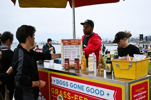 For now, no franks at Crissy Field.