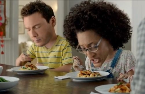 Watch Rocco DiSpirito and Carla Hall's Terrifying Kraft Ad