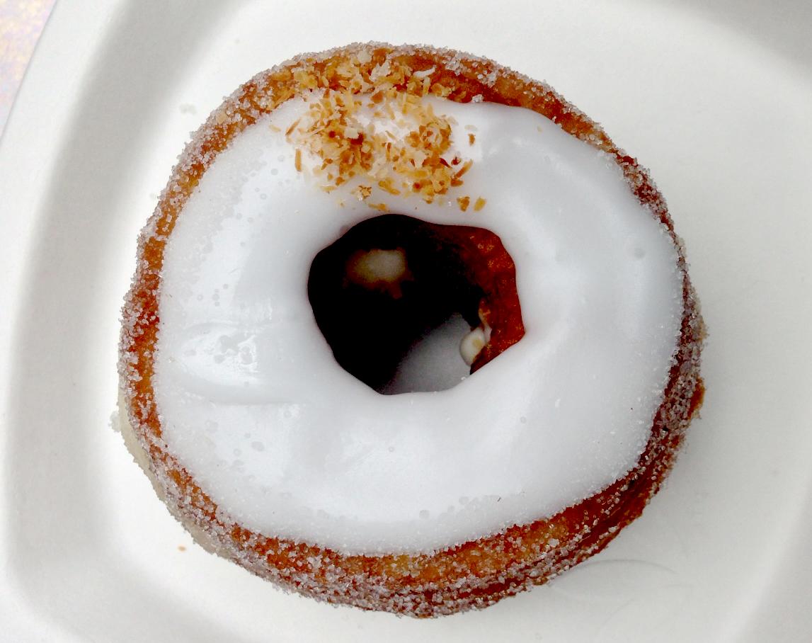 An actual, real cronut.
