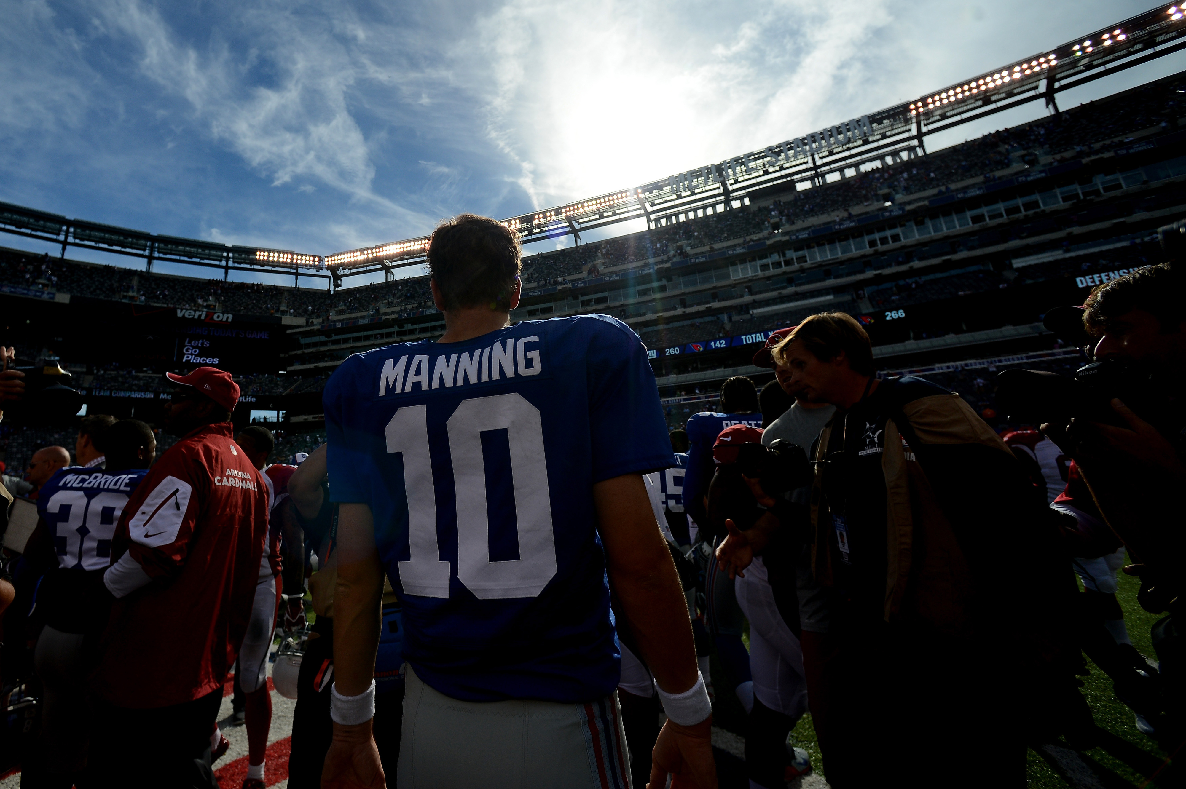 The Giants hope the sun hasn't already set on their season