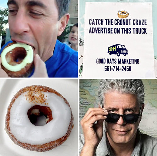 Today in Cronut Mania: Bourdain, Seinfeld, and More