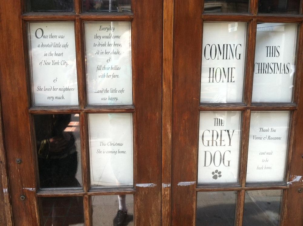 Grey Dog Bedford And Carmine : The grey dog eater ny