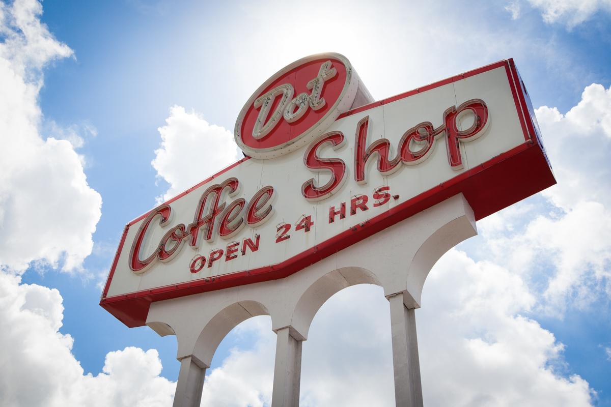 Dot Coffee Shop in Houston