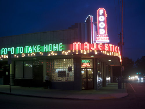 Majestic Diner.