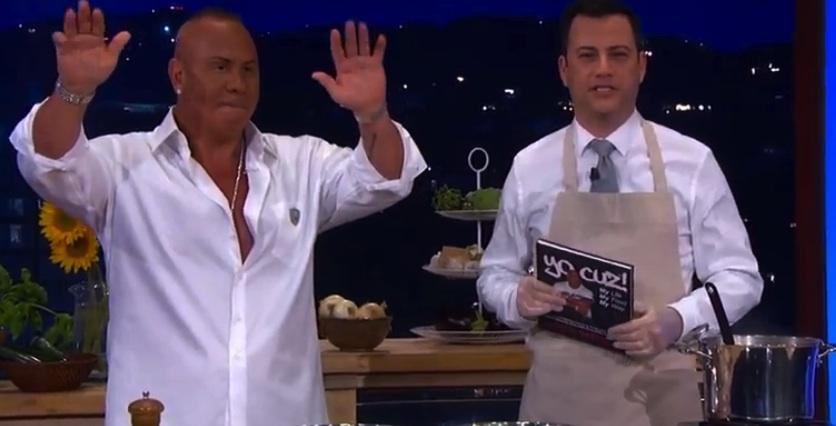 Steve Martorano and Jimmy Kimmel