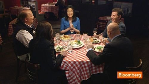 Watch a Preview of Titans at the Table With Batali, Colicchio, Flay, and Rachael Ray