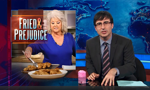 Watch the Daily Show's John Oliver Slam Paula Deen