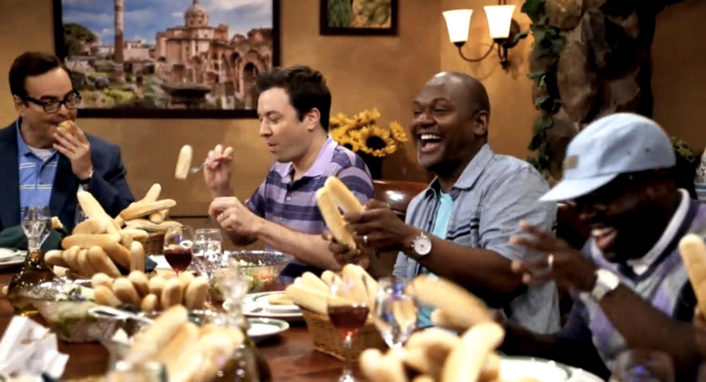 Watch Jimmy Fallon's Parody Olive Garden Commercial
