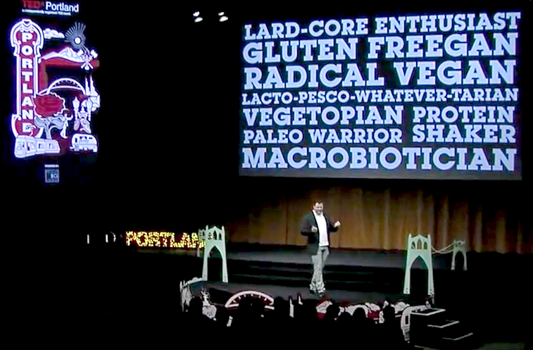 Watch a TEDx Talk on How 'Food Is Our Religion'