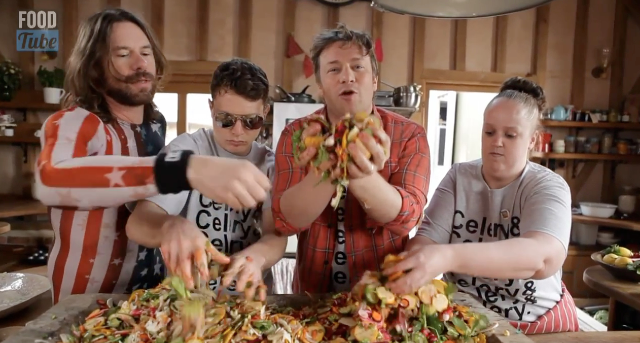 Watch Jamie Oliver's Vegan Parody of Epic Meal Time
