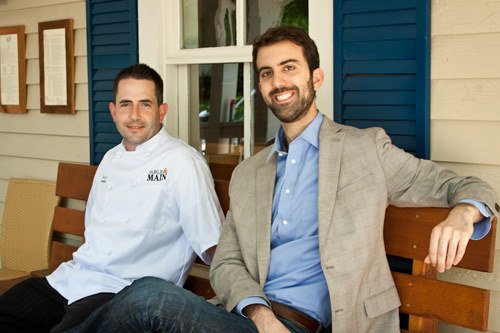 """Table &amp; Main Chef Ted Lahey and Owner Ryan Pernice. Photo by <a href=""""http://brittanywages.com/"""">Brittany Wages</a>."""