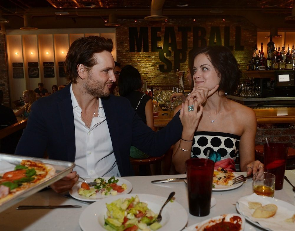 <em>Twilight</em> superstar Peter Facinelli and his girlfriend Jaimie Alexander dined at Meatball Spot. Photo: Denise Truscello/WireImage