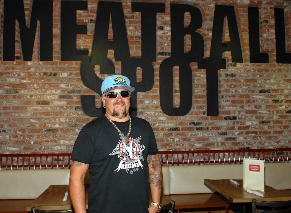 Guy Fieri at Meatball Spot. Photo: Bryan Steffy/WireImage