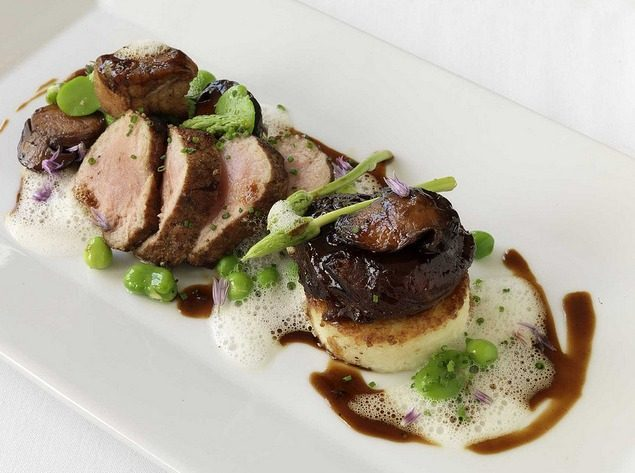 """Veal at Troquet by <a href=""""http://www.flickr.com/photos/dalecruse/8550790751/in/pool-1844845@N22"""">dalecruse</a>."""