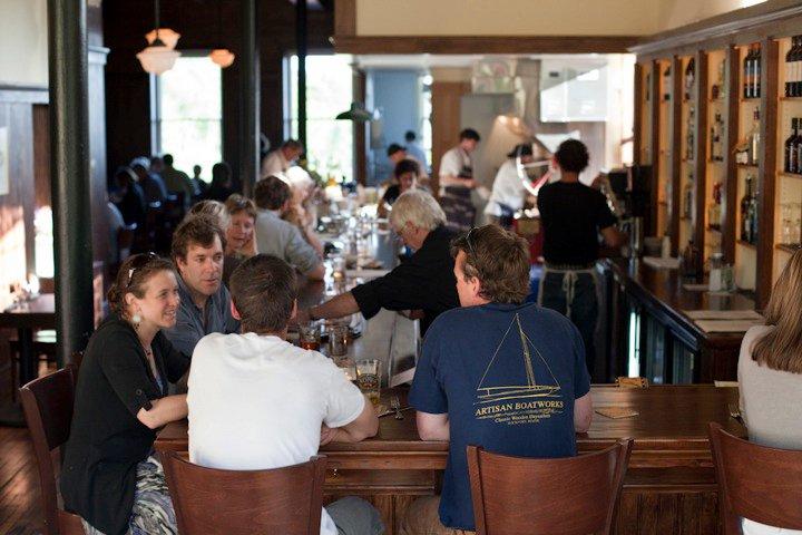 The bar at Shepherd's Pie