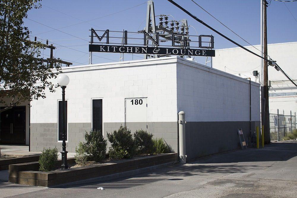 The exterior of Mingo Kitchen & Lounge
