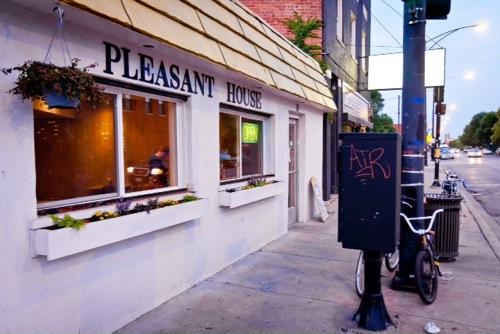 The original Pleasant House Bakery