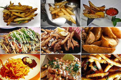 The Eater French Fry Heatmap: The Hottest New French Fries Across America