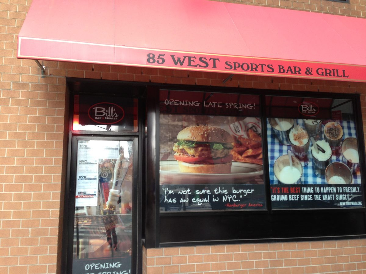 Bill's Bar & Burger, coming to The Marriott Downtown.