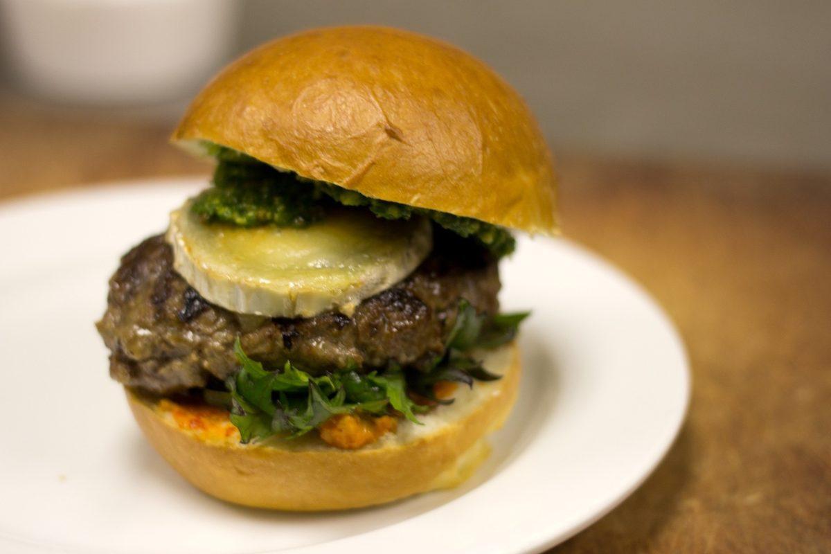 The Solera burger.