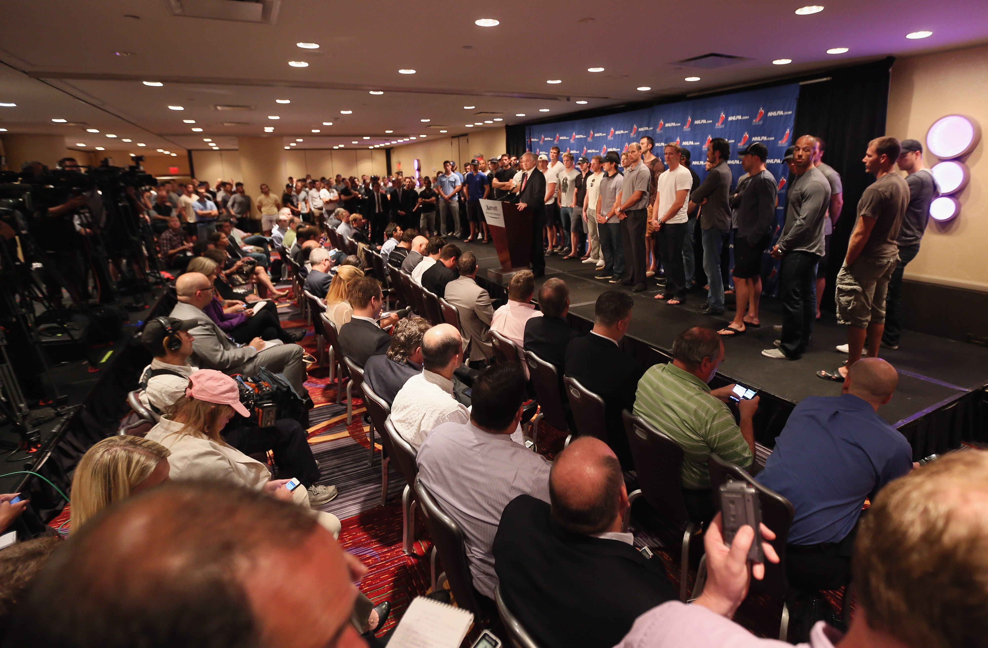 nhl lockout Here's what players in the nhl and nfl are doing (or not doing) to prepare for  lockouts.