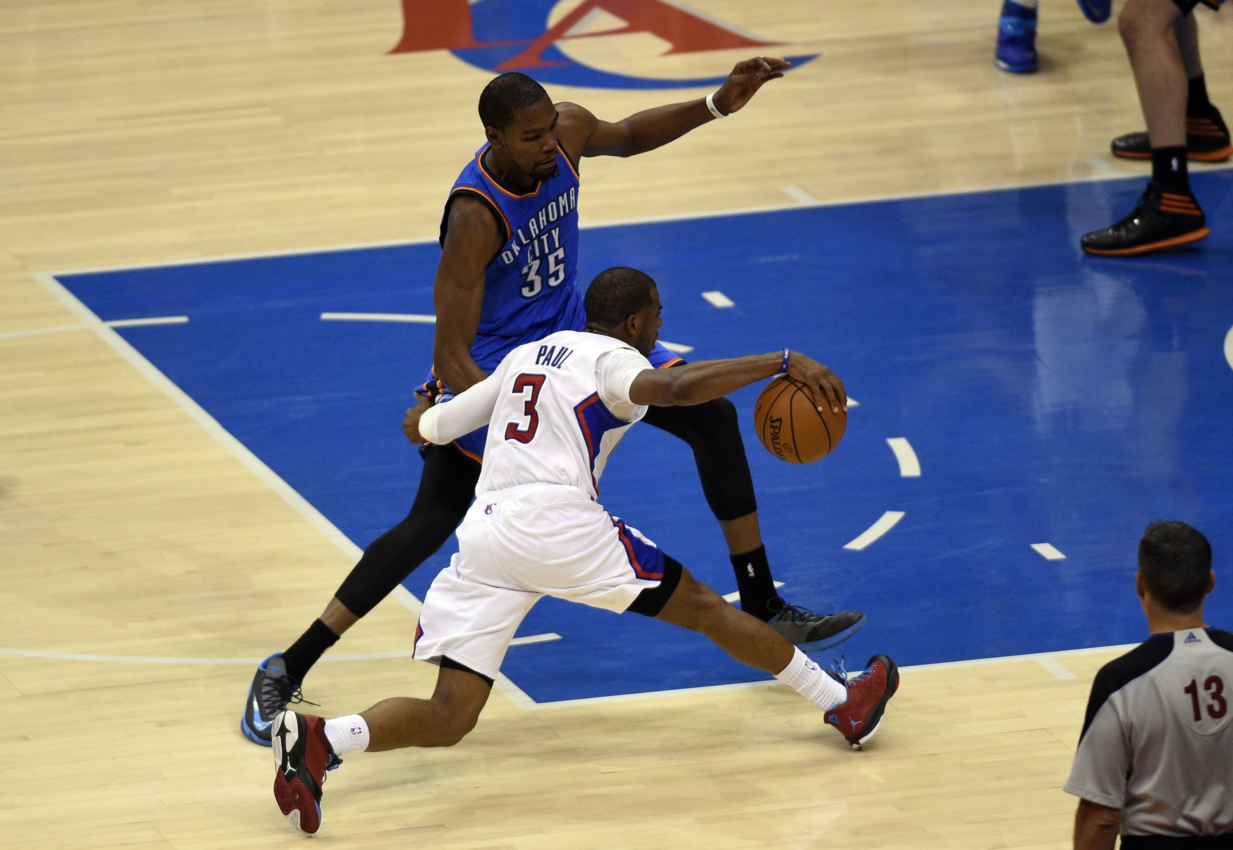 If you don't draft a point guard early, CP3 will break your ankles...