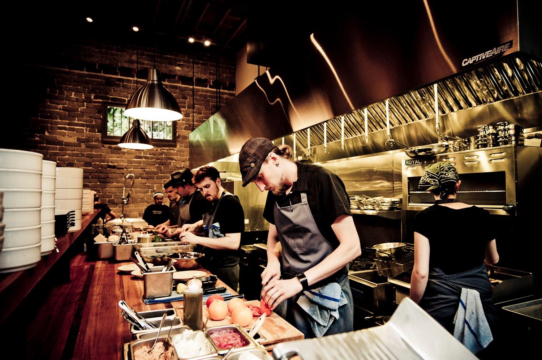 Chef Kirksey and crew