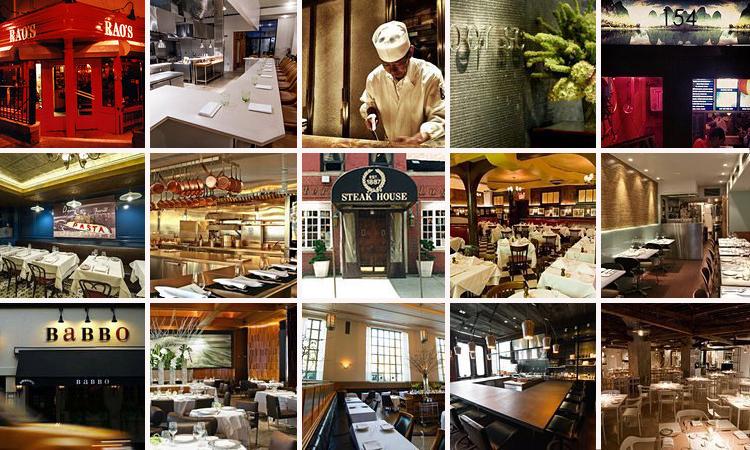 New York City's 15 Toughest Tables, 2013