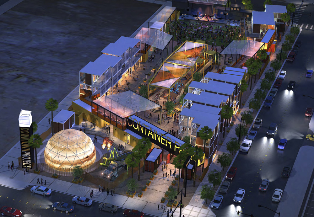 Container Park rendering