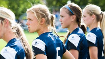 BYU took on Oregon at South Field