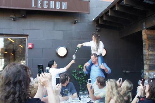 ACT at Barcelona Wine Bar.